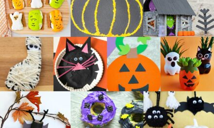 Halloween Crafts to do with Kids