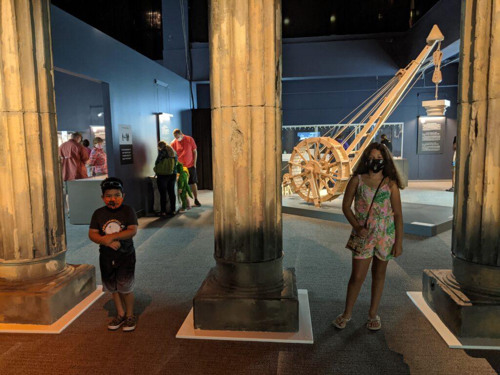 pompeii exhibit