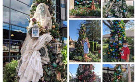 Christmas Tree Stroll at Disney Springs