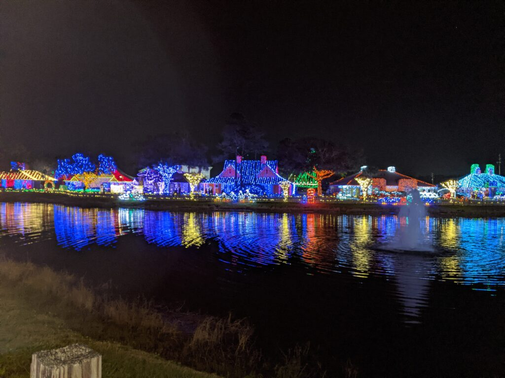 holiday lights in orlando
