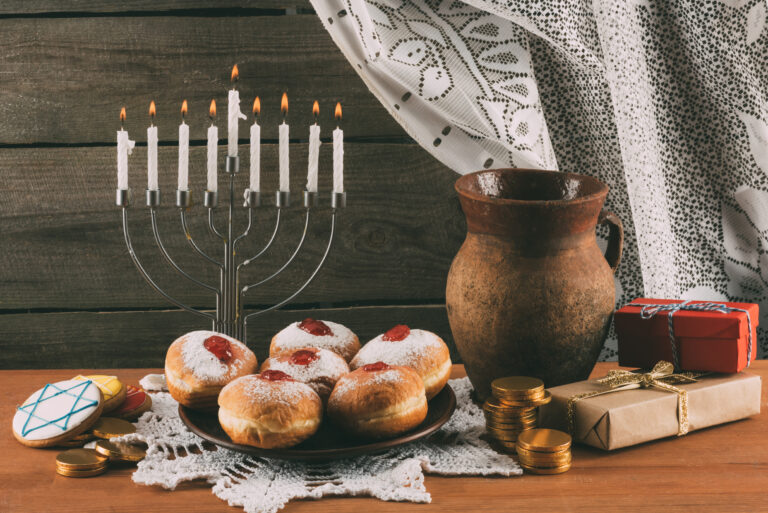Virtual Hanukkah Events