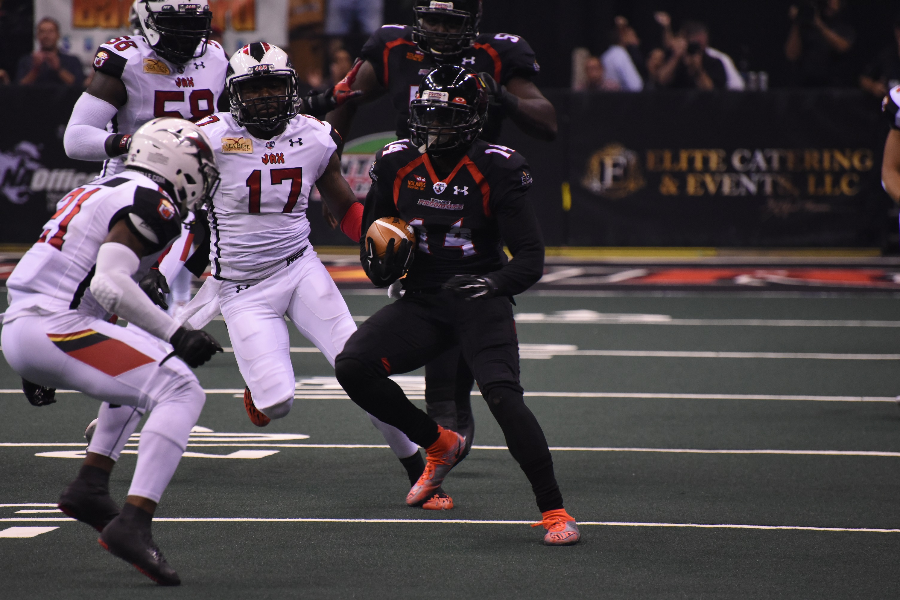 orlando predators can't keep jacksonville sharks from cashing in