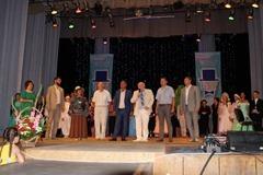 Открытие фестиваля в Доме Культуры г. Саки