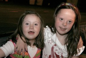 Image of children with Down's syndrome