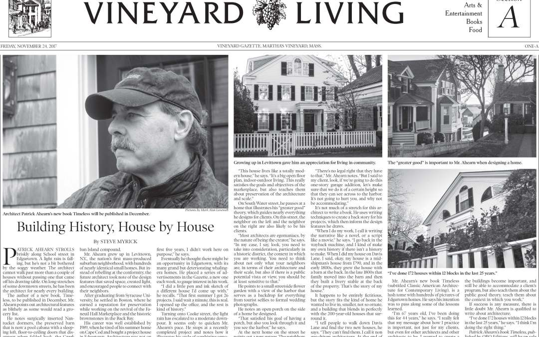 Vineyard Living's Review of Timeless