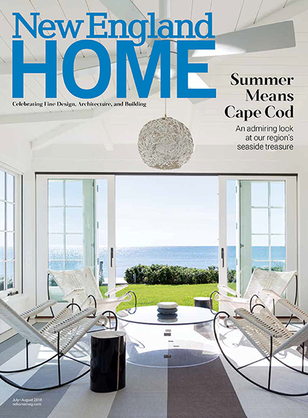 New England Home Magazine reviews Victorian Summer