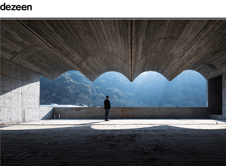 Dezeen Article: 10 significant concrete buildings featured in Chinese Brutalism Today