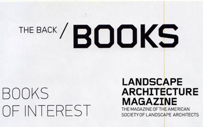 Landscape Architecture Magazine recommends Thinking a Modern Landscape Architecture