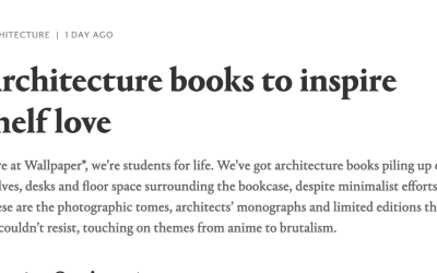 *Wallpaper Magazine recommends Triangle Modern Architecture