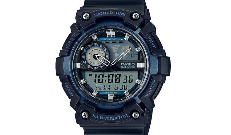 Recensione orologio Casio AEQ-200W-2AVEF