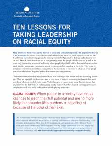 Aspen - Ten lessons for Taking Leadership on Racial Equity_Page_1