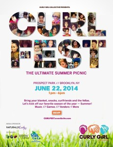 Curl Fest - Natural Hair Festival Brooklyn - June 22 2014