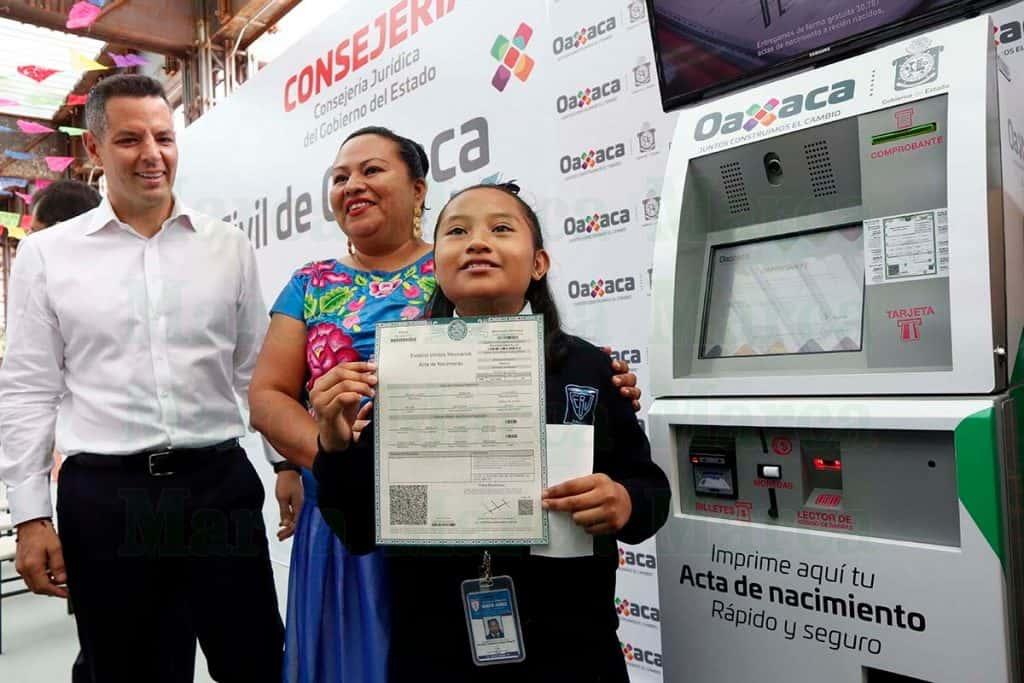 150 Módulos Digitales Ofrecerán Actas En Oaxaca