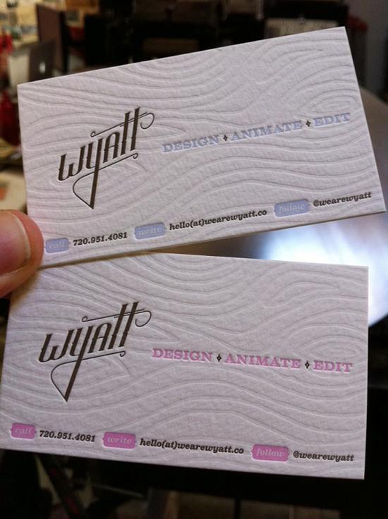 22 beautiful debossed business card designs