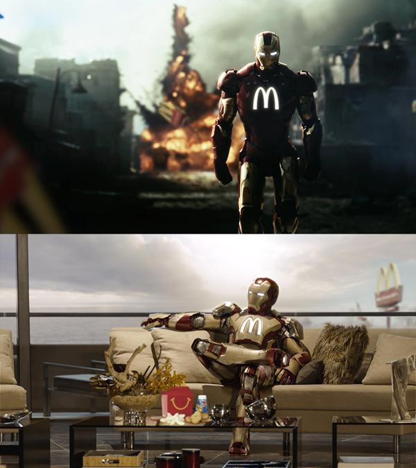 Super Heroes Ads