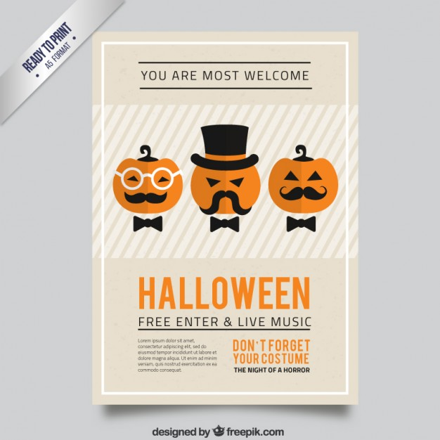 20 free halloween posters to jumpstart your spooky party