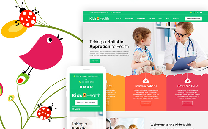 th - Kids Clinic WordPress Theme