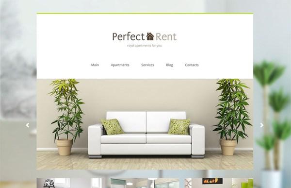 Apartment Rent WordPress Theme