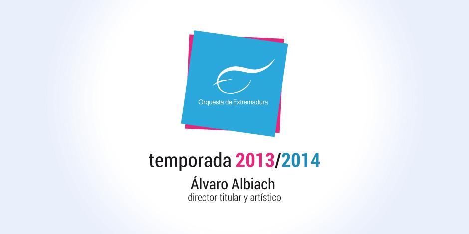 La Orquesta de Extremadura avanza su temporada 2013-2014, firmada por Álvaro Albiach