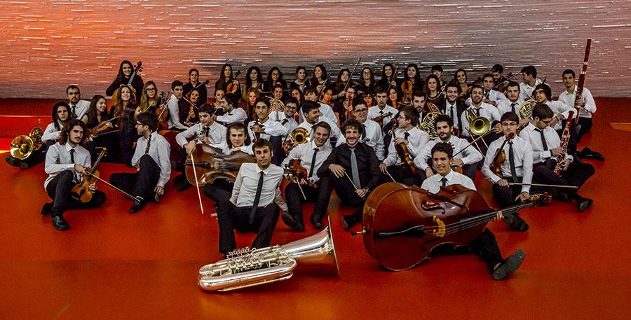 La Orquesta Joven de Extremadura realiza su primer encuentro del 2015
