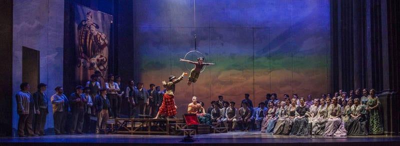 Pagliacci y Cavalleria rusticana en el Teatro Villamarta