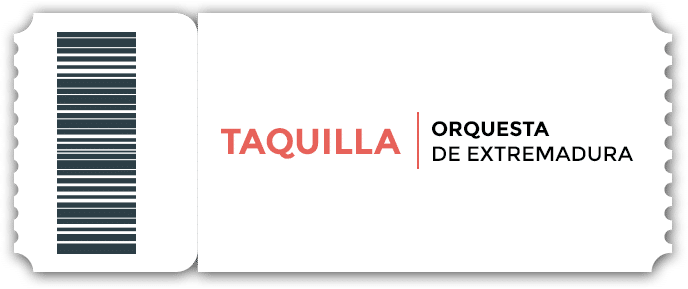 Taquilla online de la Orquesta de Extremadura