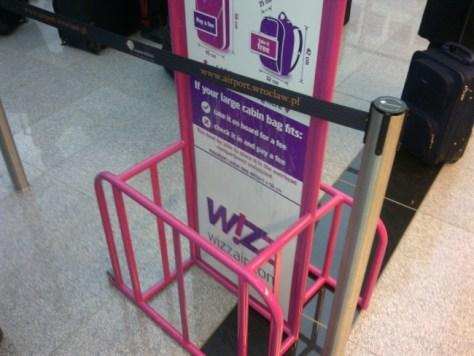 Bagaglio a mano WizzAir