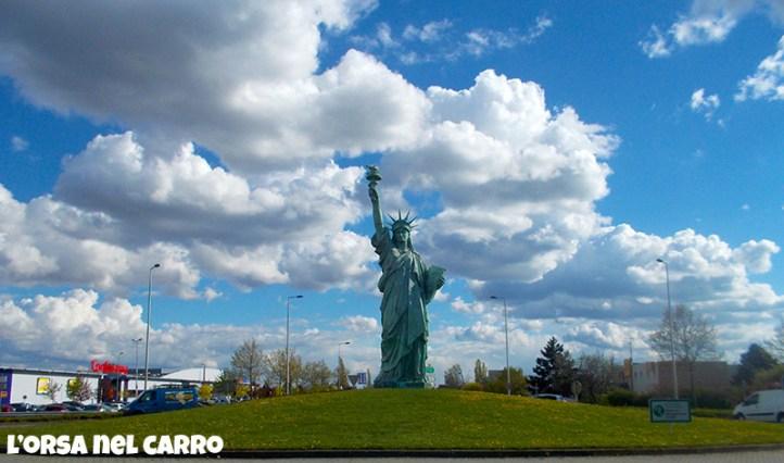 Colmar statua della libertà