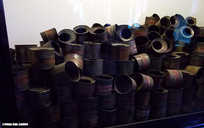 visitare il Campo concentramento Auschwitz zyklon-gas