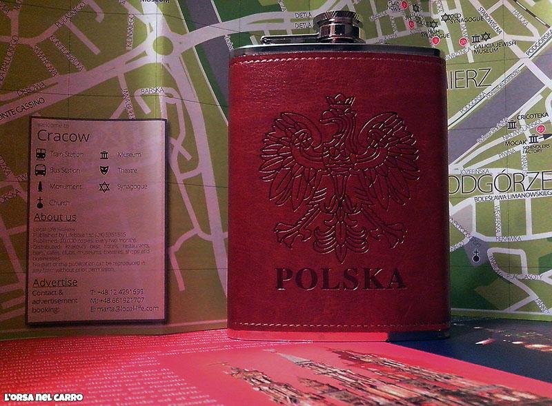 fiaschetta vodka polacca