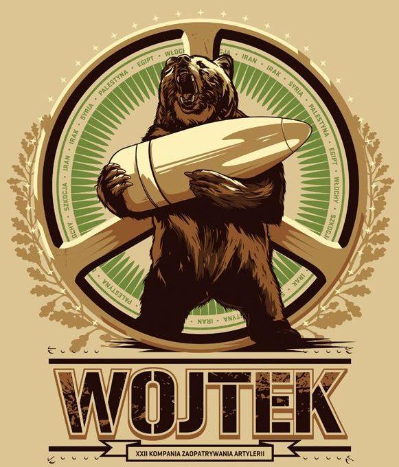 Wojtek bear soldier