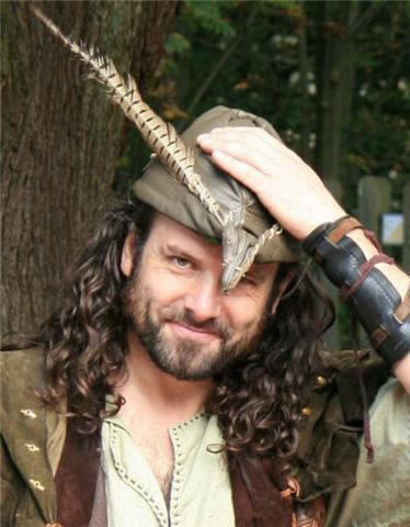 Ade Andrews il volto di Robin Hood