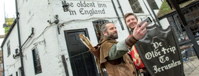 Ade Andrews il Robin Hood di Nottingham