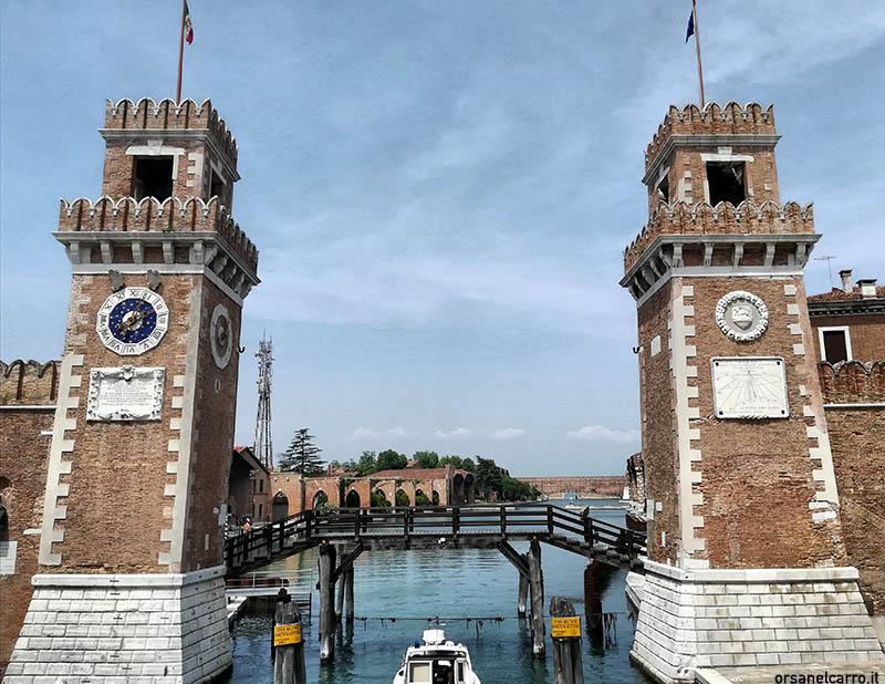 Cosa vedere a Venezia l'Arsenale