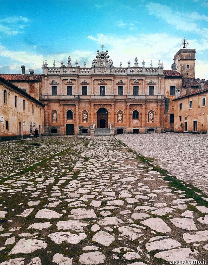 Campania itinerari alternativi Certosa Padula