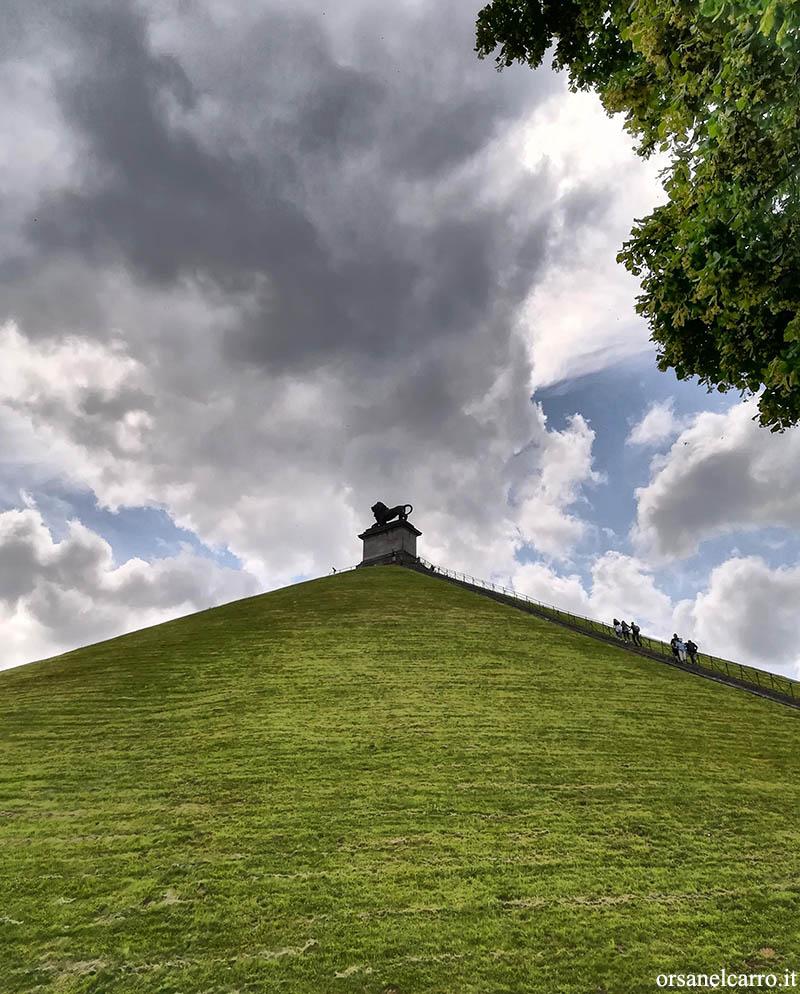 Collina del leone Waterloo