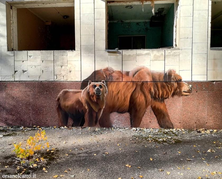 Chernobyl bear