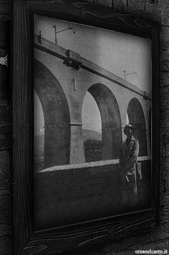 Soldato Alpino a guardia del Ponte sul Mingardo