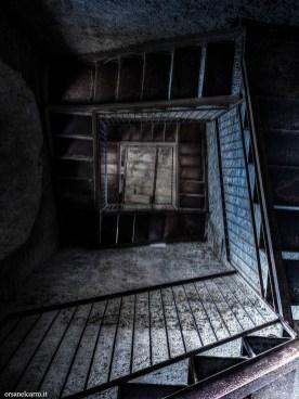 Scala del vecchio campanile
