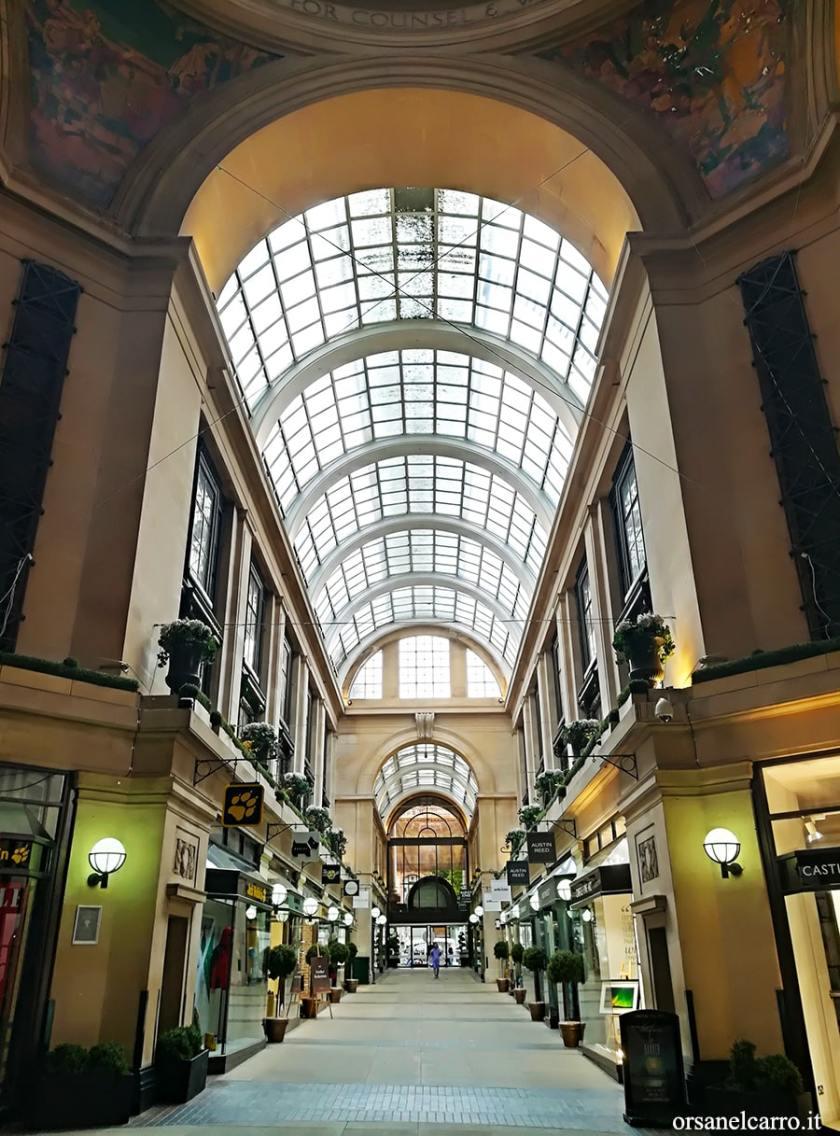 Gallerie e passaggi coperti The Exchange Arcade Nottingham