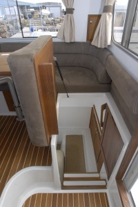 Entrance back cabin M31