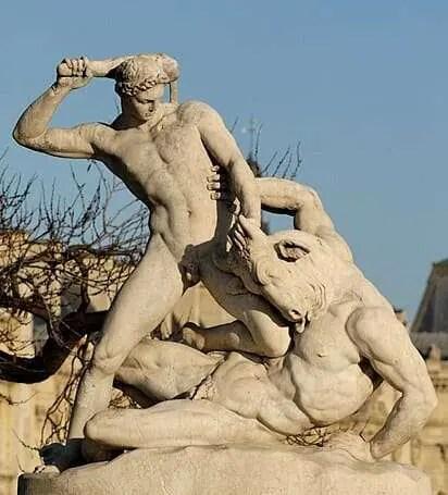 Minosse Theseus_Minotaur_Ramey_Tuileries