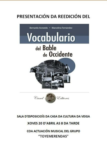 Preséntase na Veiga a reedición del Vocabulario del Bable del Occidente
