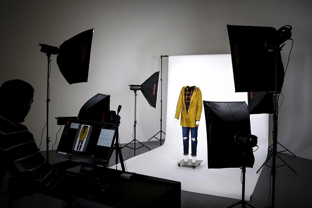 led product photography light kits that