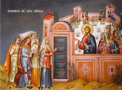 Image result for parable of the 10 virgins
