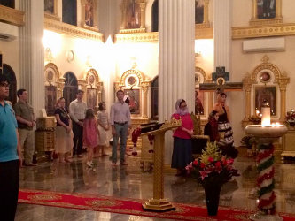 Праздничное богослужение в Свято-Николаевском соборе г. Бангкока