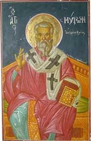 Άγιος Μύρωνας ο Επίσκοπος Κρήτης - 8 Αυγούστου | 08-08 | Orthodox Fathers