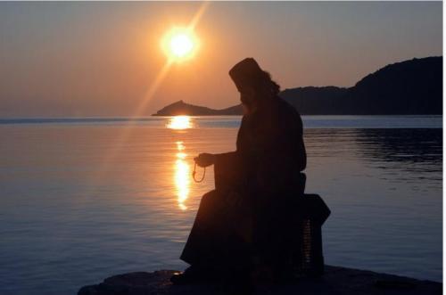 Un monaco athonita