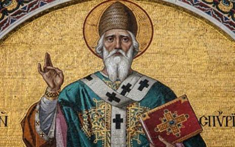 Ορθόδοξος Συναξαριστής 12 Δεκεμβρίου, Άγιος Σπυρίδων ο Θαυματουργός, επίσκοπος Τριμυθούντος Κύπρου
