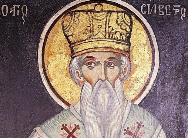 Ορθόδοξος συναξαριστής 2 Ιανουαρίου, Άγιος Σίλβεστρος Πάπας Ρώμης